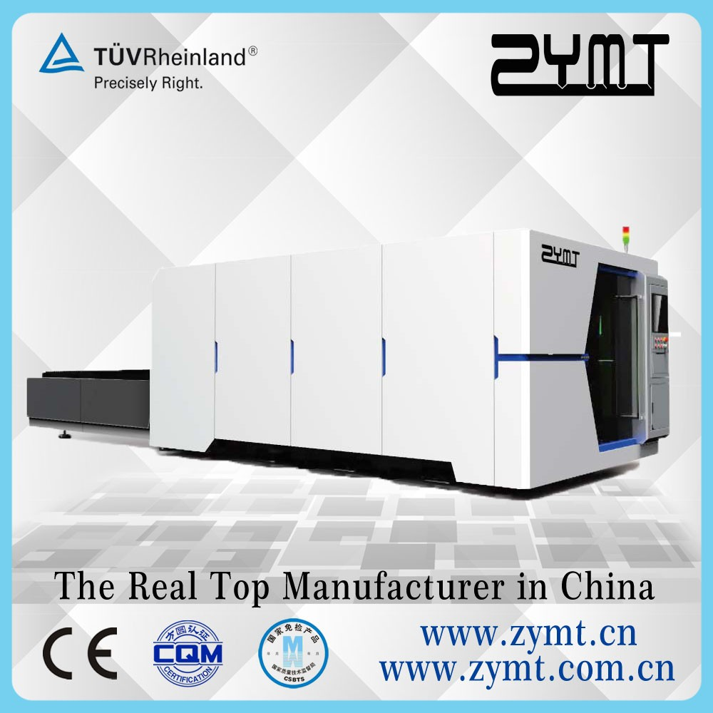 Enclosed Fiber laser Cutting Machine with higher laser power