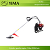gasoline knapsack brush cutter