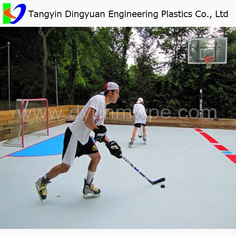 Plastic Skating Sheet Uhmwpe Portable Hockey Training