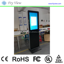 3G WiFi Network 32 Inch Full HD Touch Screen Stand Digital Signage Kiosk