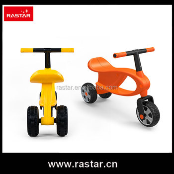 Rastar newest product bicycle gift baby balance ride on toy bike with 3 wheel