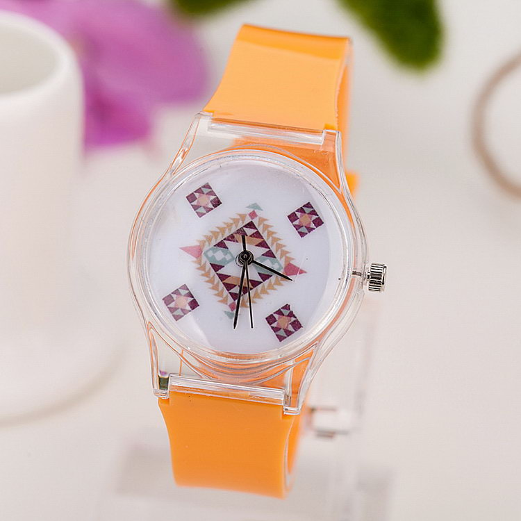 OEM discount fashion silicone watches made in china