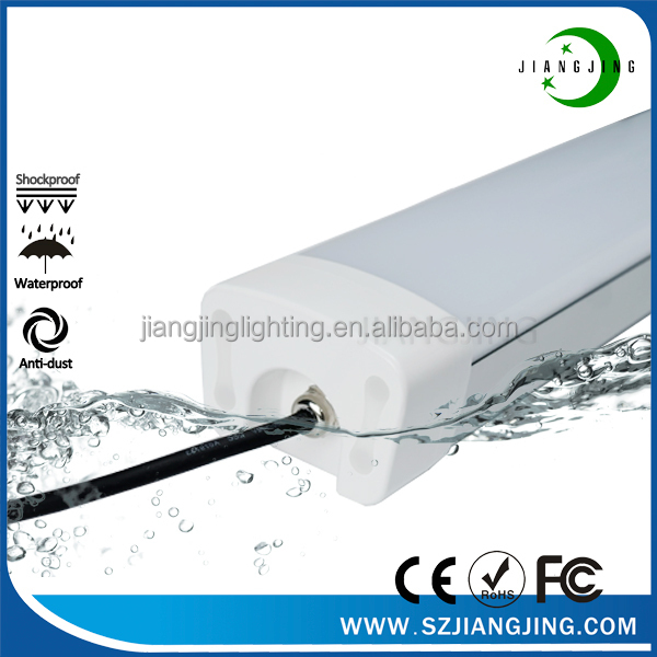 indoor ip65 waterproof led tube for damp place, tri-proof led tri proof lighting fixture