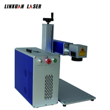 fiber metal tag laser code machine with IPG laser device