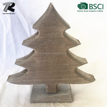 Decorated Table Top Wood Carving Christmas Trees for Sale.(Direct Factory)