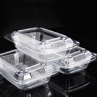Dongguan Factory 2016 New on Market Clear Plastic Take-away Lunch Box
