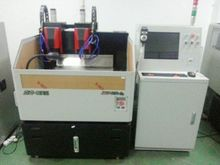 paper & aluminum foil laminating machine two heads CNC polishing