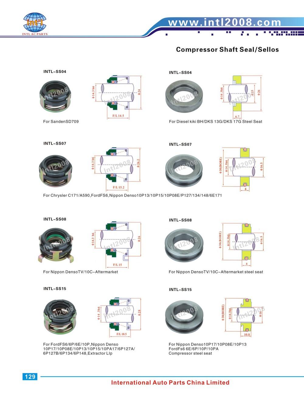 Auto Air Ac Compressor Shaft Lip Seal For Gm Da6 Ht6 Hr6 Hr6he R4 V5 A C Wiring Diagram More Pictures View