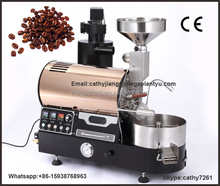 Drum Coffee Roaster and automatic Coffee Bean Roasting Machine