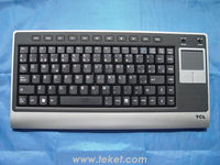 2.4G Wireless Keyboard with Touchpad K8C(Spain version),(0005,TCL),for laptop ,industrial pc, multimedia .