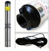 Submersible Pump 4'' Deep Well 2HP With Control Box and 33FT Cable 1 hp submersible well pump