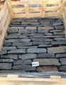 Natural black stone strip