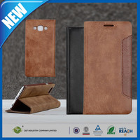 C&T New Design Mobile Phone Wallet PU Leather Stand Flip Case Cover for Samsung Galaxy E7 / E700