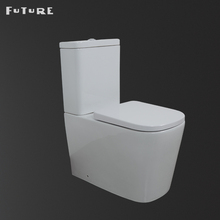 Brand Ceramic Cistern Close Coupled Closestool Design Two Piece Toilet Commode Price