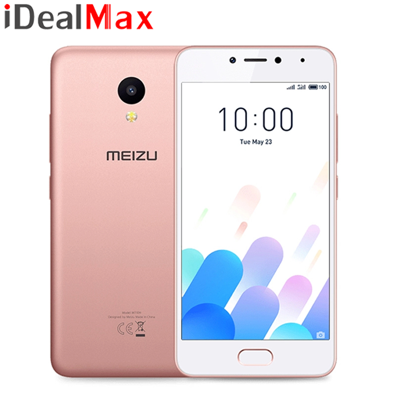 "Original MEIZU M5C Global Version 4G LTE 2GB 16GB MTK6737 Quad Core 64Bit CPU Mobile Phone 5.0"" 2.5D Touch screen"