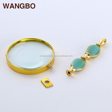 Exquisite workmanship jewel gifts portable magnifier