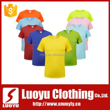 100 polyester wholesale blank t shirts
