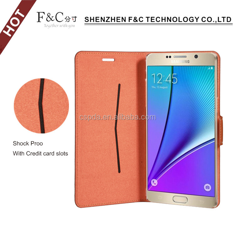 2016 Factory Price PU Leather Flip Cover Case For Samsung Galaxy Grand Case For Galaxy Fit S5670