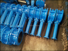 With Extend Rod Concerntric Flange Butterfly Valve of Manual Double Flange butterfly valve for water