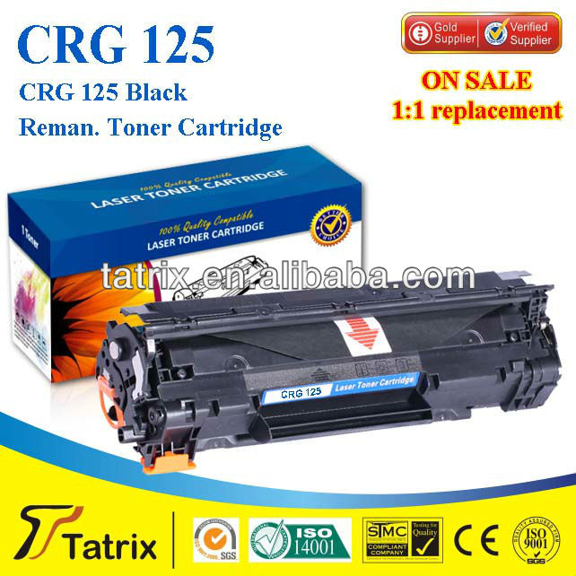 Reman Black Toner Cartridge For Canon 285 CE SGS STMC ISO Approved