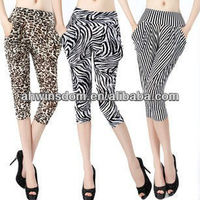 WHOLESALE CHEAPEST SUMMER WOMENS PRINTED HAREM SHORT PANTS