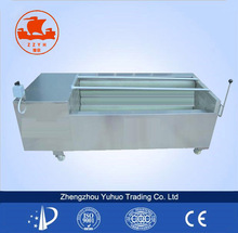 Large Capacity Commercial Industrial brush potato cleaning machine/fruit and vegetable cleaning machine/cleaning machine