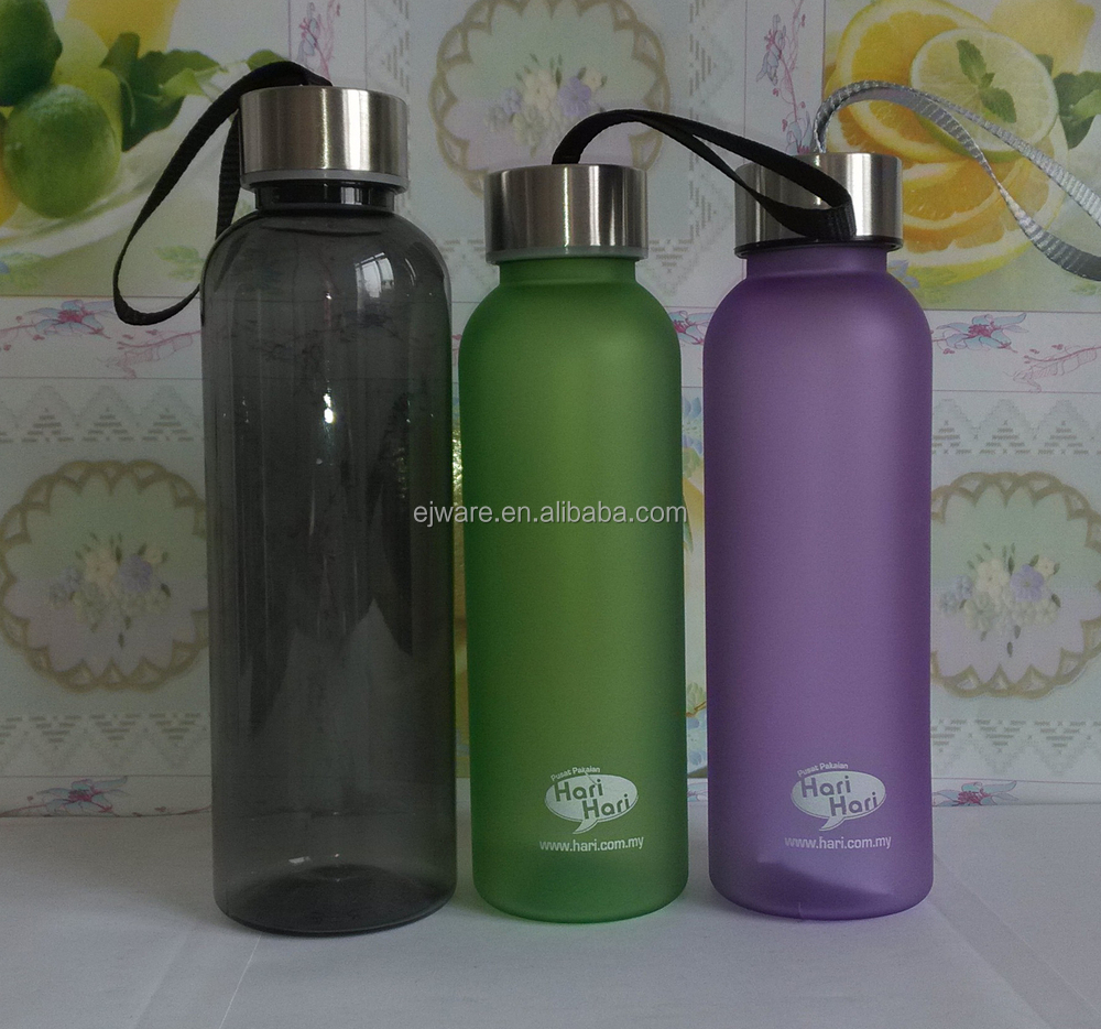 China manufacture custom plastic water bottles with logo for Unique plastic bottles