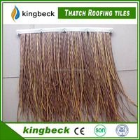 CE certified new style artificial thatch plastic tile roof thatch roofing tiles