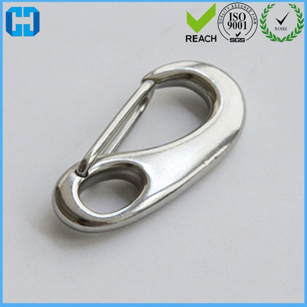 Wholesale Boat Marine Stainless Steel Gate Spring Clip Snap Hook / Lobster Claw