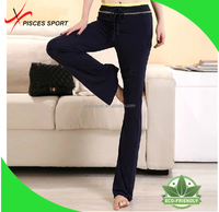 custom made high waist plain yoga pants wholesale sexy jogging pants with zipper pockets