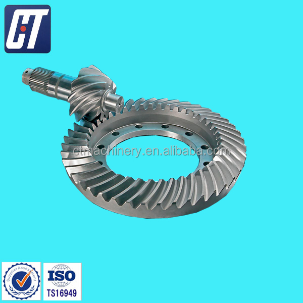 Professionally manufacture Crown Wheel & Pinion Gear for Toyota