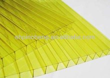 8mm four-wall structure polycarbonate sheet