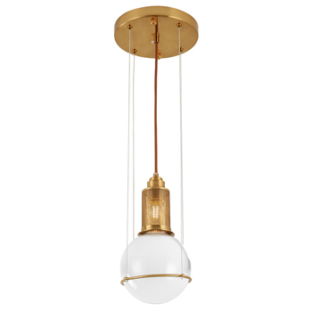 Nordic crystal lampshade lighting decorative Copper hanging chandelier pendant light