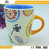 China manufacturer inexpensive products white ceramic decal mug