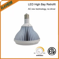 ETL & DLC 120W Industrial commercial lighting AC-direct led high bay retrofit lamp