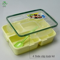 leakproof bento lunch box with compartments