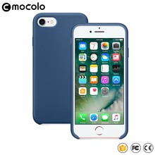 2017 New Arrival Mobile Accessories Soft Case for iphone 7 7plus Liquid Silicone Case