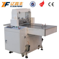 Flat bed jumping cutting machine kiss die cut sheet material