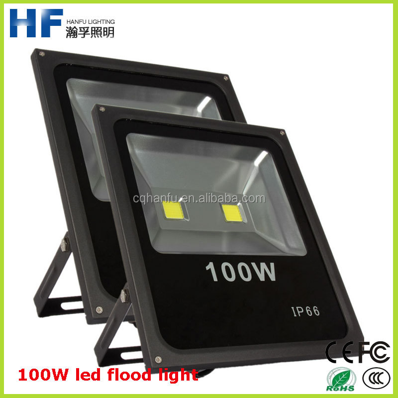 high voltage exterior led light IP65 100W pure white flood light led