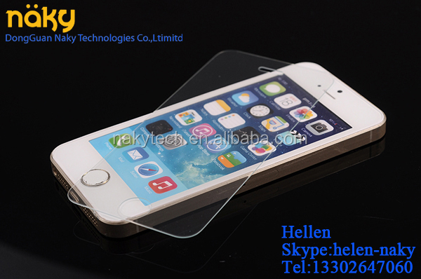 Mirror Tempered Glass Screen Protector for iphone 4G 4