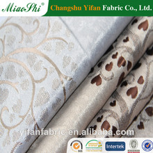 100% Polyester Luxury Blackout Jacquard Curtain Fabric/tree design curtain fabrics
