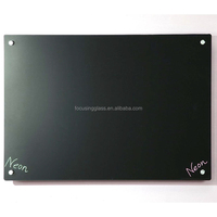 New Large Magnetic Tempered Glass Writing