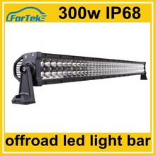 "car accessories 52"" offroad 300W Epistar led light bar China wholesaler"