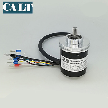 CALT 6mm shaft CNC lather machine Tool turret encoder CAS42 12 position pnp absolute encoder 24v