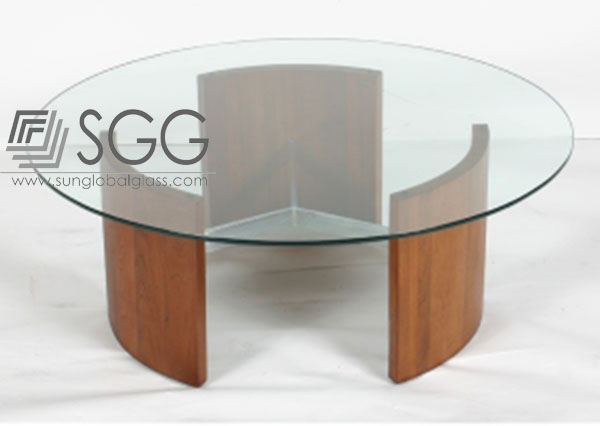 Small round coffee table glass buy coffee table glass for Small round glass coffee table