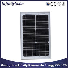 solar Panel with Mono crystalline and 15W Maximum Power