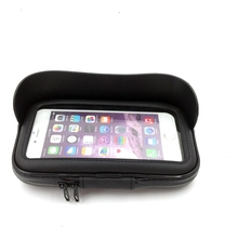 new product Bicycle Phone Bag Touch Screen Cell Phone Holder Bicycle Handlebar Bags Bike Frame Pouch Bag Waterproof For GPS