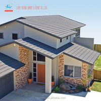 factory supply, high quality sand coated metal roofing tiles for beautiful house