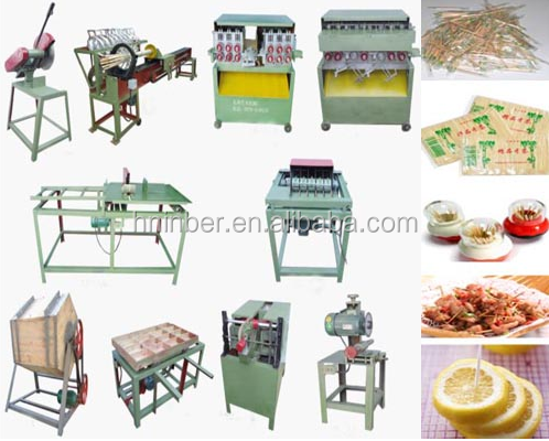 bamboo processing incense bbq stick production line