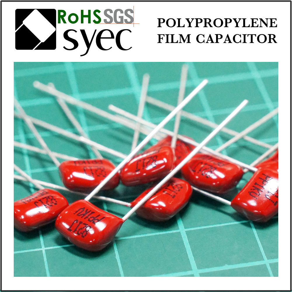 High Frequency Low DF 270pF 63V Polypropylene Film Capacitor